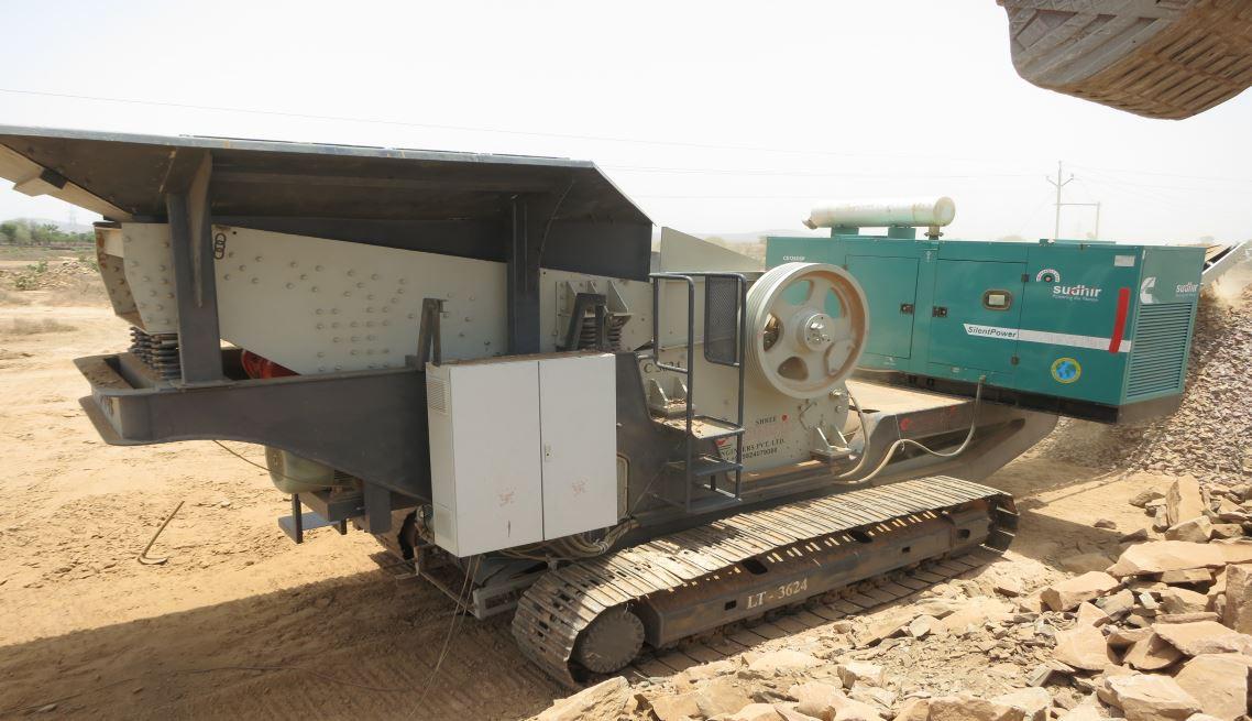 Track Mounted Mobile Crushing & Screening Plant