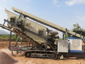 Track Mounted Mobile Crushing & Screening Plant