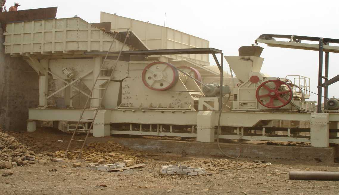 Stationary Crushing And Screening Plant