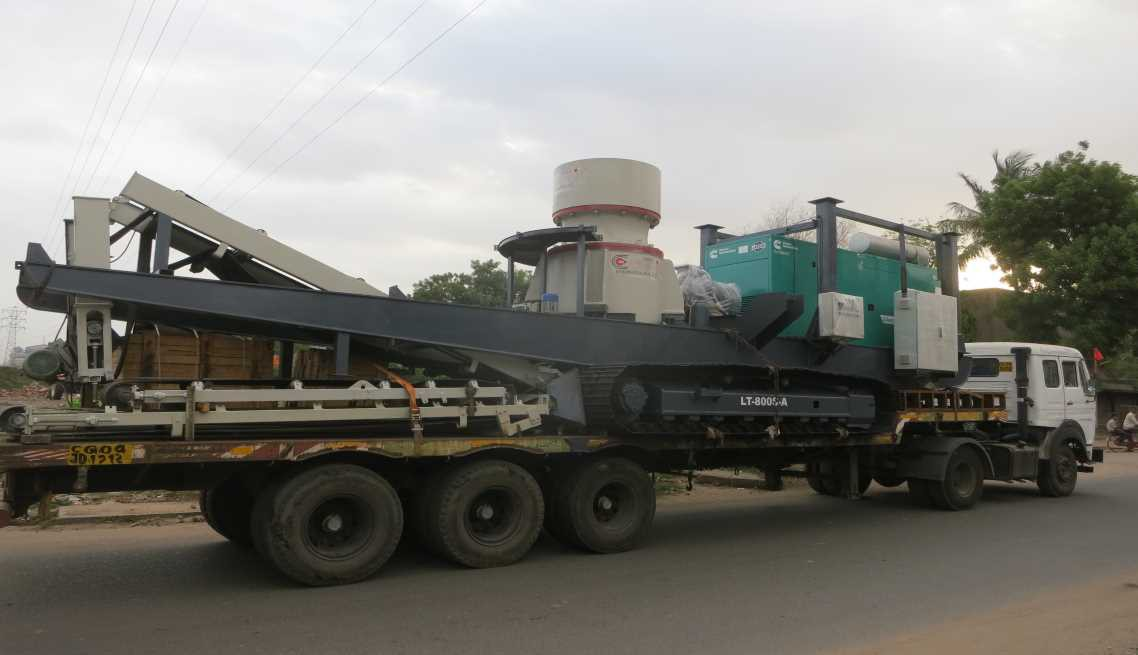 Track Mounted Cone Crusher
